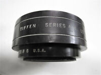 Tiffen # 602 Adapter Ring Series # 6 With Lens Shade Made In USA