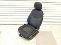 2017 Chevrolet Volt OEM Black Cloth Front Left Driver Seat W/ Airbag