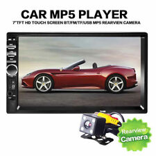 "7"" 2DIN 7018B Car MP5 Player Bluetooth Touch Screen Stereo Radio HD MP3/USB/AUX"