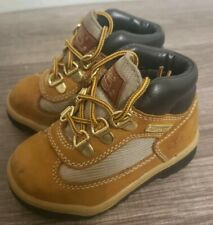 Timberland Baby Toddler Wheat Waterproof Hiking Field Boots Size 6 #15845 a0525