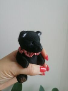 miniature teddy bear 3,9 inches
