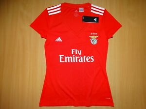 New Benfica 2018 2019 HOME JERSEY SHIRT ADIDAS 100 % ORIGINAL WOMAN