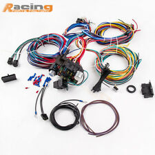 21 Circuit  Wiring Harness Hot Rod Universal Wire Kit For Chevy Universal Ford