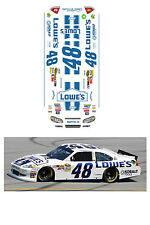 #48 Lowes 2012 HO scale decal fits AFX TYCO Lifelike