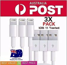 3X high quality Lightning Data Cable Charger for iPhone 5 6 7 8 Plus, X iPad
