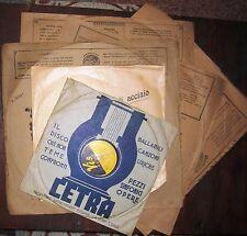 Disco Originale Claudio Villa - Vis inciso per CETRA - anni '50