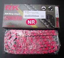 RK 520 Gxw Chaîne, Rouge, Yamaha YZF 1000, R1, RN19, RN22, Chaîne Catena Rossa