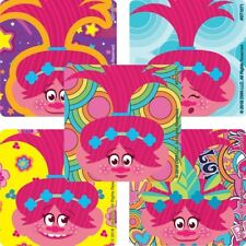 """25 Trolls Poppy Stickers, Assorted 2.5""""x2.5"""" each, Party Favors"""