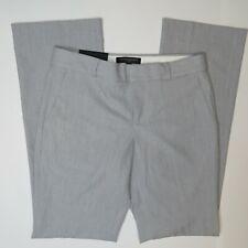 Banana Republic Logan Tailored Performance Pants New Womens 0S Trousers Gray
