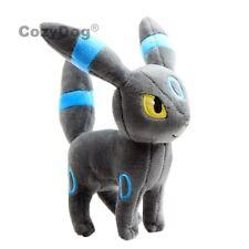 Pokemon Eevee Evolution Shiny Umbreon Plush Toy Stuffed Doll 8'' Teddy Xmas Gift