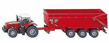 SIKU 1844 Massey Ferguson Tractor Trailer Red Scale 1 87
