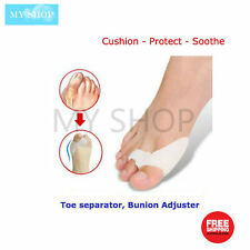 1 Pair of Silicone Gel Bunion Guard Protector, Toe Separator & Spacer Combo