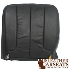 2002 Dodge Ram Driver Bottom Replacement Synthetic Leather Seat Cover Dark Gray