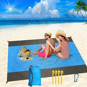 Anti Sand Beach Mat Rug Picnic Blanket Waterproof Outdoor Camping Travel Garden