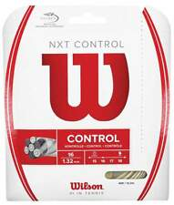 New Wilson Nxt Control 16 (1.32) Tennis String Set Natural Pack