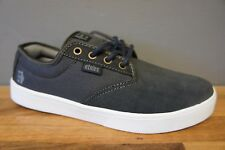 Etnies Mens Size 6 Jameson Black Grey Suede Leather Skate Trainers Brand New Box