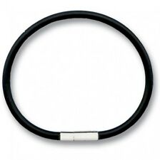 Rubber Bracelet 4mm x 21cm with Snaplock