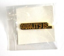 COCA COLA COKE EE.UU. Solapa Pin PIN BADGE Broche - QUALITY IS