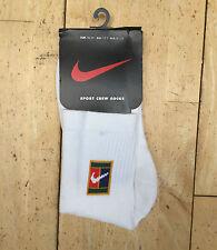 Nike Sport Crew Tennis Socks New Size UK 12 - 2
