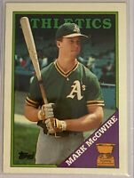 Mark McGwire - 1988 Topps All-Star Rookie #580