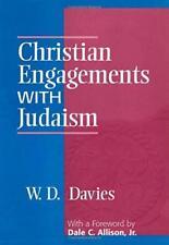 CHRISTIAN ENGAGEMENTS WITH JUDAISM W. D. DAVIS (CONTINNUUM 1999) NR MINT