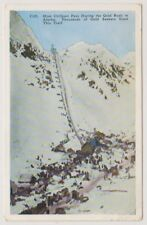 USA postcard - Over Chilkoot Pass During the Gold Rush in Alaska