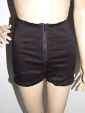 Patternless High Waist Shorts for Women