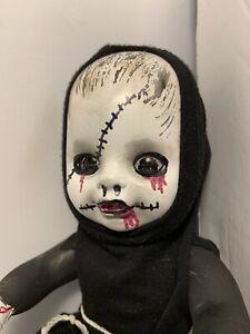 VAMPIRE horror Halloween Prop OOAK Evil Doll  Religious reject  Monk Izzar