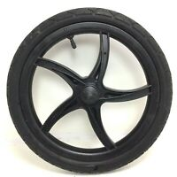 "Baby Trend 16"" Rear, Left, Jogger Wheel, Black Plastic, 1.75 Tire Stroller #E91"