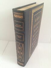 """1980 FRANKLIN MINT LIBRARY..GILT 1/4 LEATHER  """"..WILLIAM SHAKESPEARE.."""""""