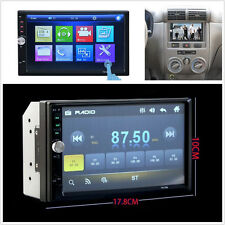 "12V 7"" 2 Din Car SUV Radio Video MP5 Player Touch Screen FM Handfree Call 7012B"