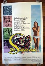 THE SWEET RIDE Original 1960s Surfing One Sheet Movie Poster Jacqueline Bisset
