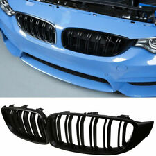 Matte Black Kidney Grill Grille for BMW F32 F33 F36 F82 F83 F80 13-16 Twin Slats
