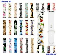 NEW Sport Silicone Wrist Strap Band For Apple Watch SERIES 1 2 3 4 38/40/42/44mm