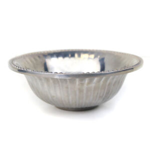 Wilton Armetale 6 Inch Flutes & Pearls Pewter Bowl