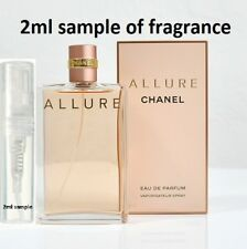 Chanel Allure Perfume for women Eau De Parfum EDP 2ml sample 100% genuine