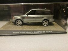 JAMES BOND CARS COLLECTION 079 RANGE ROVER SPORT QUANTUM OF SOLACE