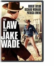 THE LAW AND JAKE WADE ROBERT TAYLOR RICHARD WIDMARK JOHN STURGES DVD FREE SHIP