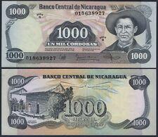 "NICARAGUA P145***1000 CORDOBAS SERIE ""G"" ***ND 1985***UNC-GEM***USA SELLER"