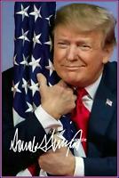 PRESIDENT DONALD TRUMP AUTOGRAPH OFFICIAL WHITE HOUSE 8X10 PHOTO POSTER PICTURE