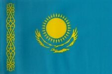 HUGE 8ft x 5ft Kazakhstan Flag Massive Giant Kazakhstani Kazak Flags
