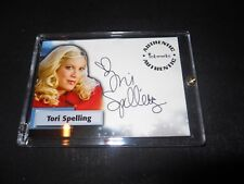Smallville Autograph Trading Card Tori Spelling as Linda #A49 (Holder)