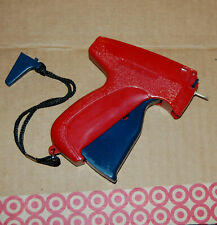 Fine Tagging Gun Red Blue Ideal for Fine Garments Fabrics Tags Attaching Labels