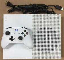 New listing Microsoft Xbox One S 1681 500Gb Slim System & Controller