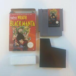 Wrath Of The Black Manta Nintendo NES Boxed PAL A