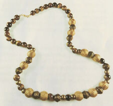 Jilly Beads Golden Days Necklace Jewelry Making KIt Tiger's Eye Woven Beads