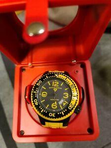 New Swiss Legend Men's Swiss made Neptune Automatic Yellow Watch/Winder