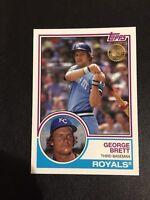 GEORGE BRETT 2018 Topps New Era Promo SSP VARIATION 1983 Kansas City Royals