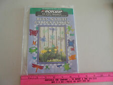 ROTOZIP EZ-CUT PROJECT, BUGS'N STUFF GARDEN STAKES