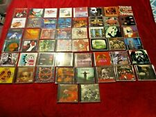 Vintage Lot of 50 Rock, Heavy Metal CD's Megadeath, Disturbed, Slayer, Soulfly